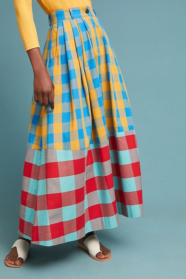 Mara Plaid Skirt