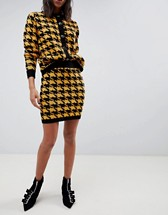 Houndstooth Vintage Two-Piece