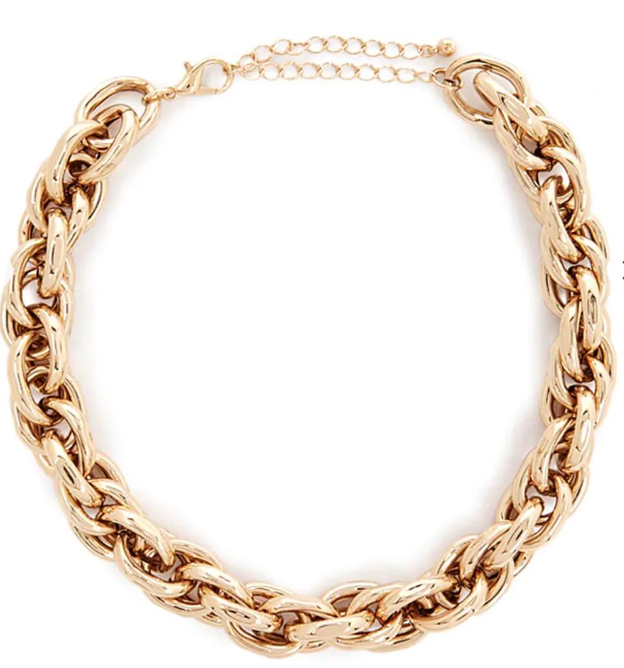 F21 Gold Chain
