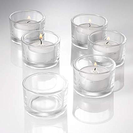 Glass Tea-light Holders