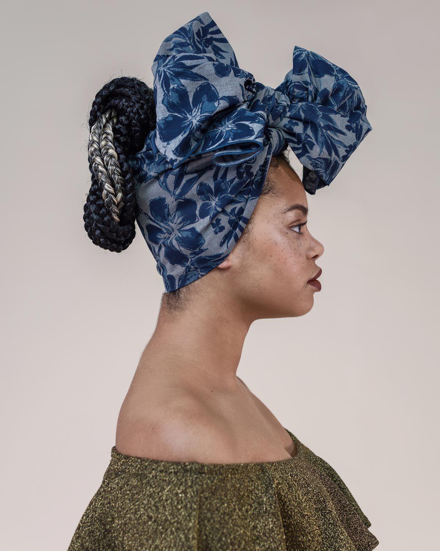 Floral Head Wrap