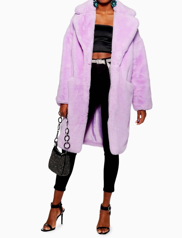 Purple Luxe Faux