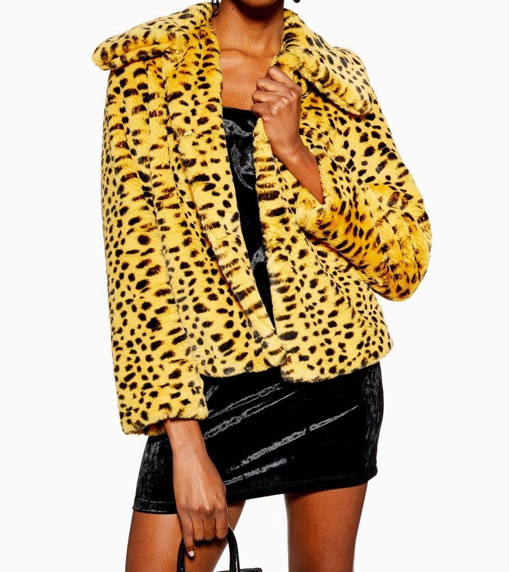 Cheetah Cropped Faux