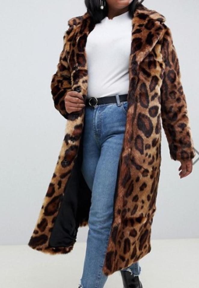 Curve Maxi Leopard Faux