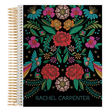 Floral Stitches Notebook