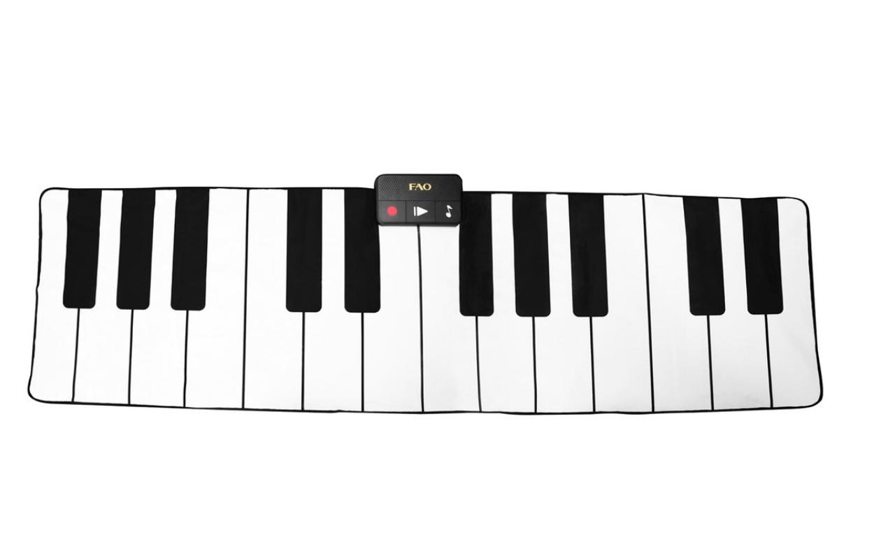 Giant Floor Piano Mat