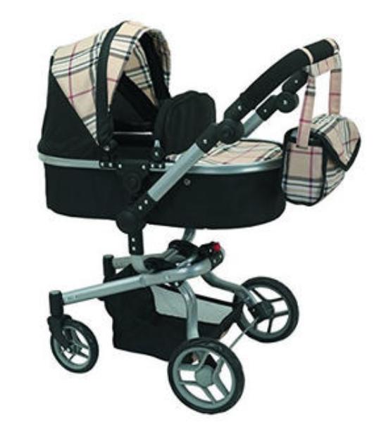 Mommy & Me Doll Stroller