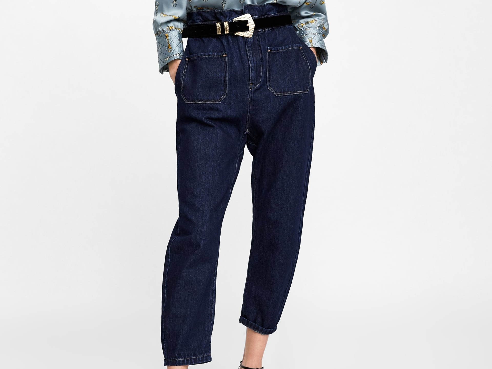 Paperbag Waist Jeans