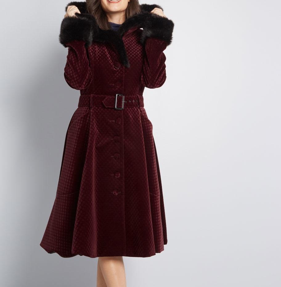 Collectif Poised Posture Coat