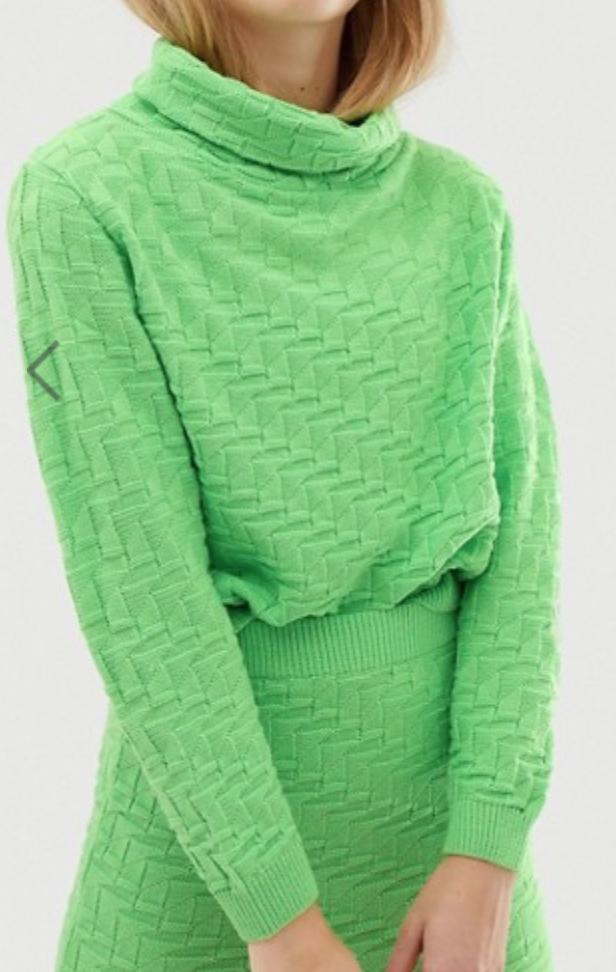 Asos Design Textured Sweater
