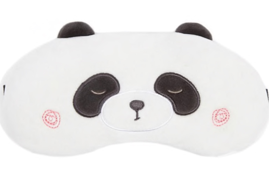 Panda Bear Travel Mask
