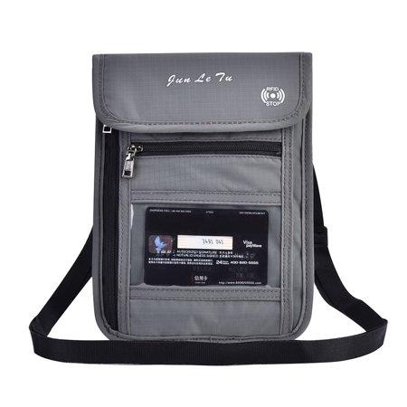 Passport Cover Neck Bag