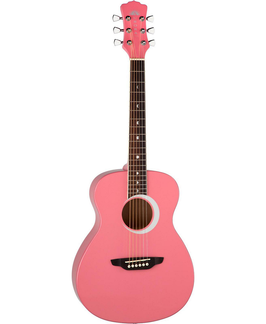 Acoustic Guitar in Pink