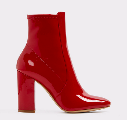 Aurella Red Boot