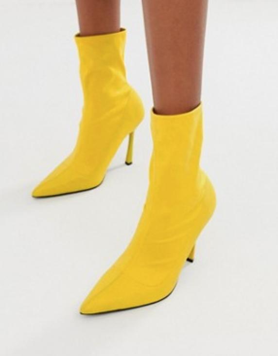 Heeled Sock Boots