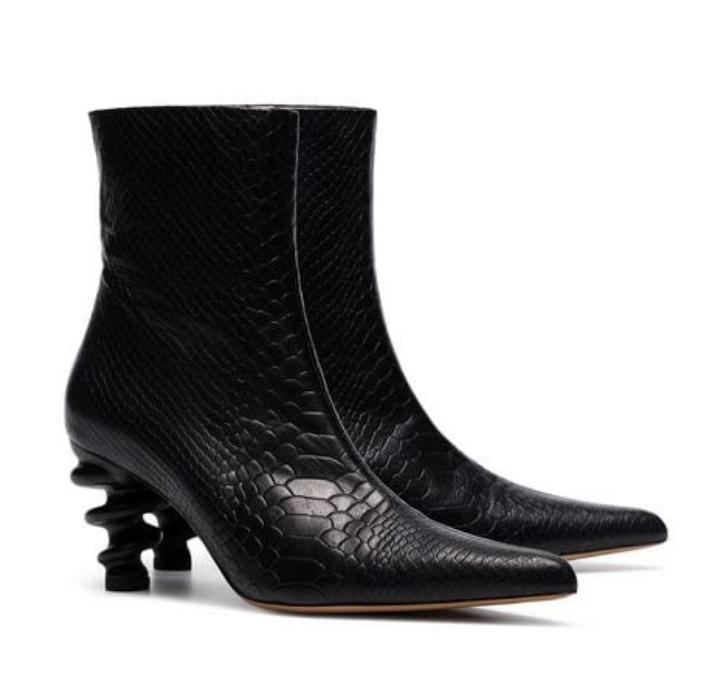 Twisted Heel Boot