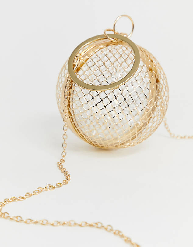 Sphere Clutch Bag