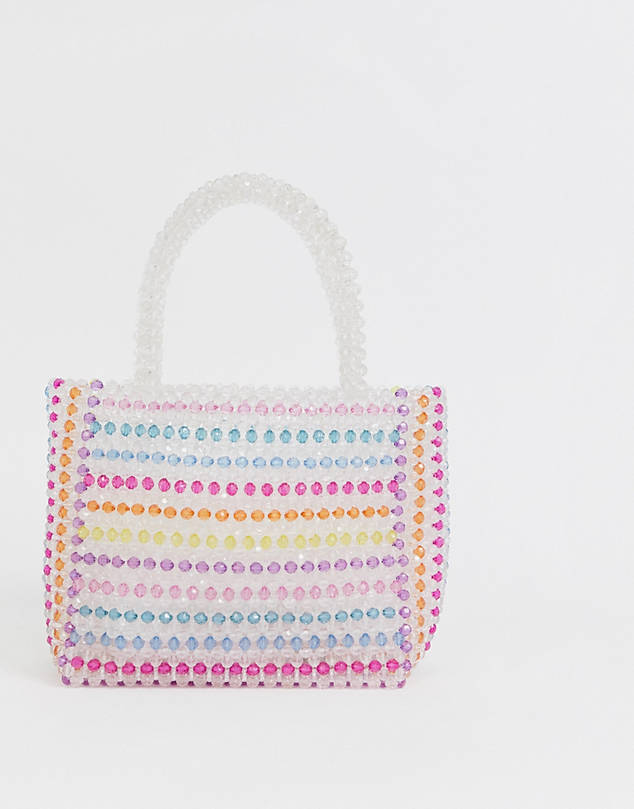 Multi Beaded Bag