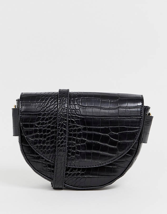 Crock Effect Bag