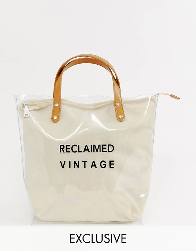 Vintage Inspired Tote Bag