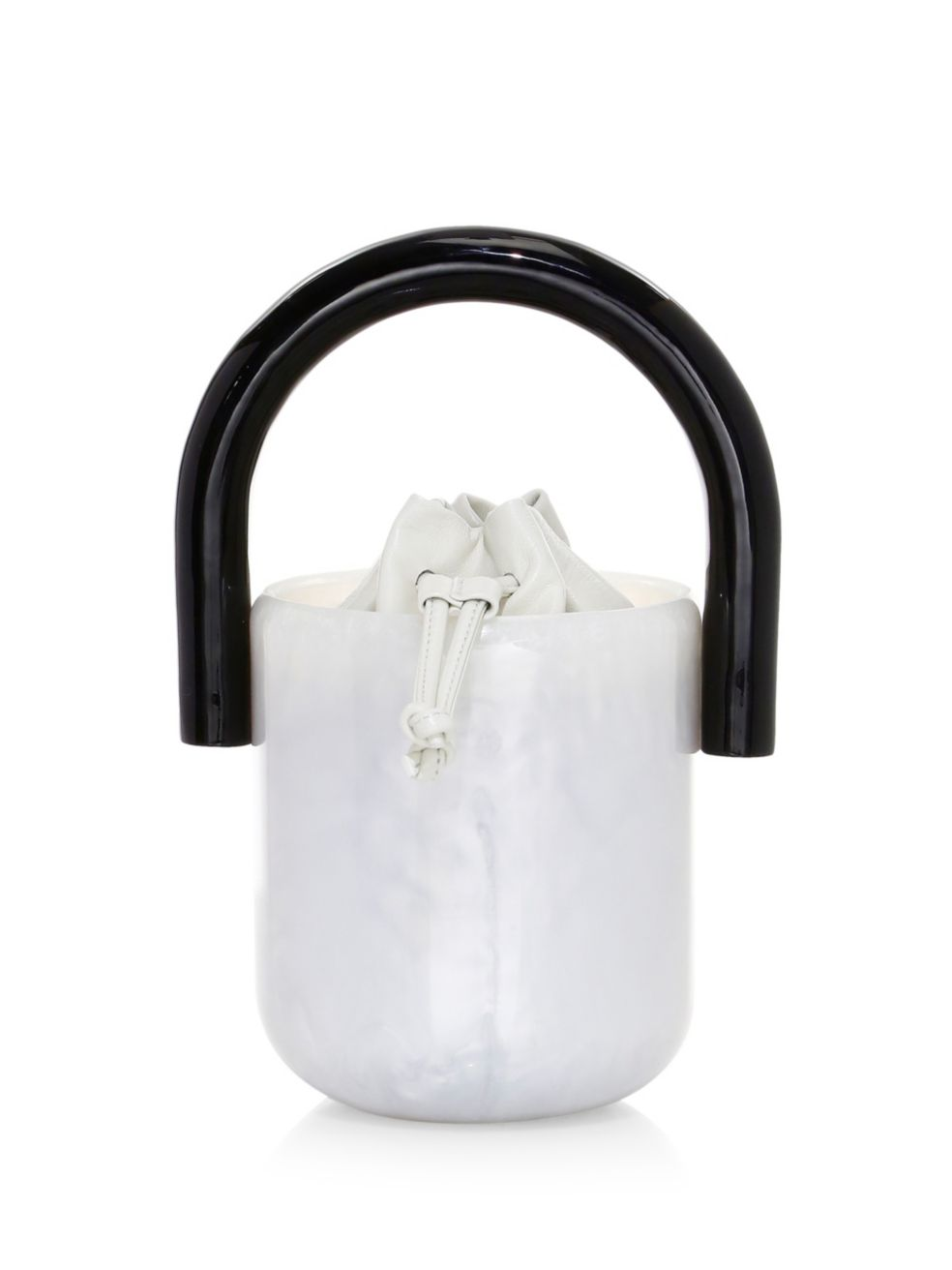 Acrylic Bucket Bag