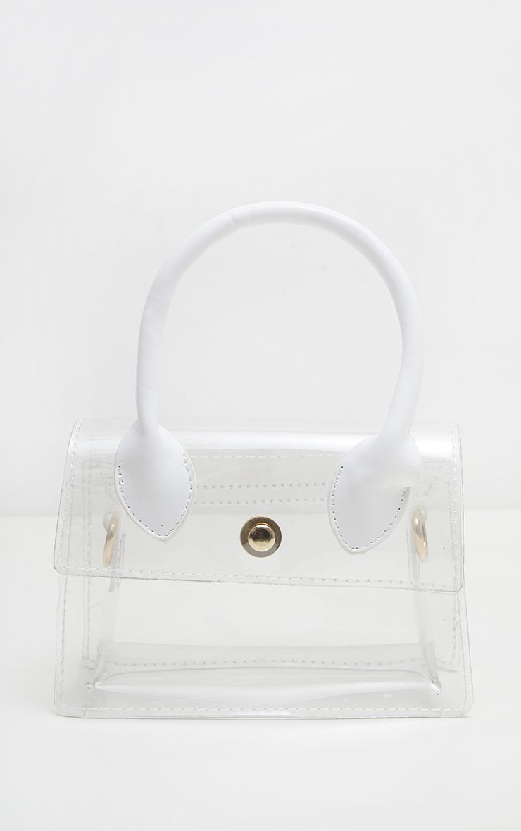 Clear Mini Box Bag