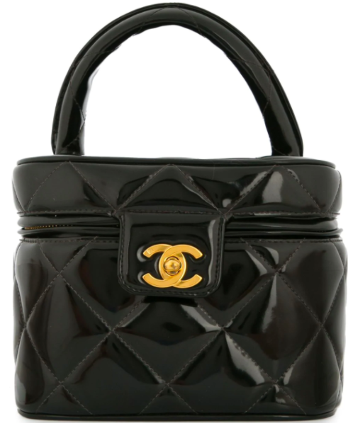 Chanel Quilted Vanity Bag
