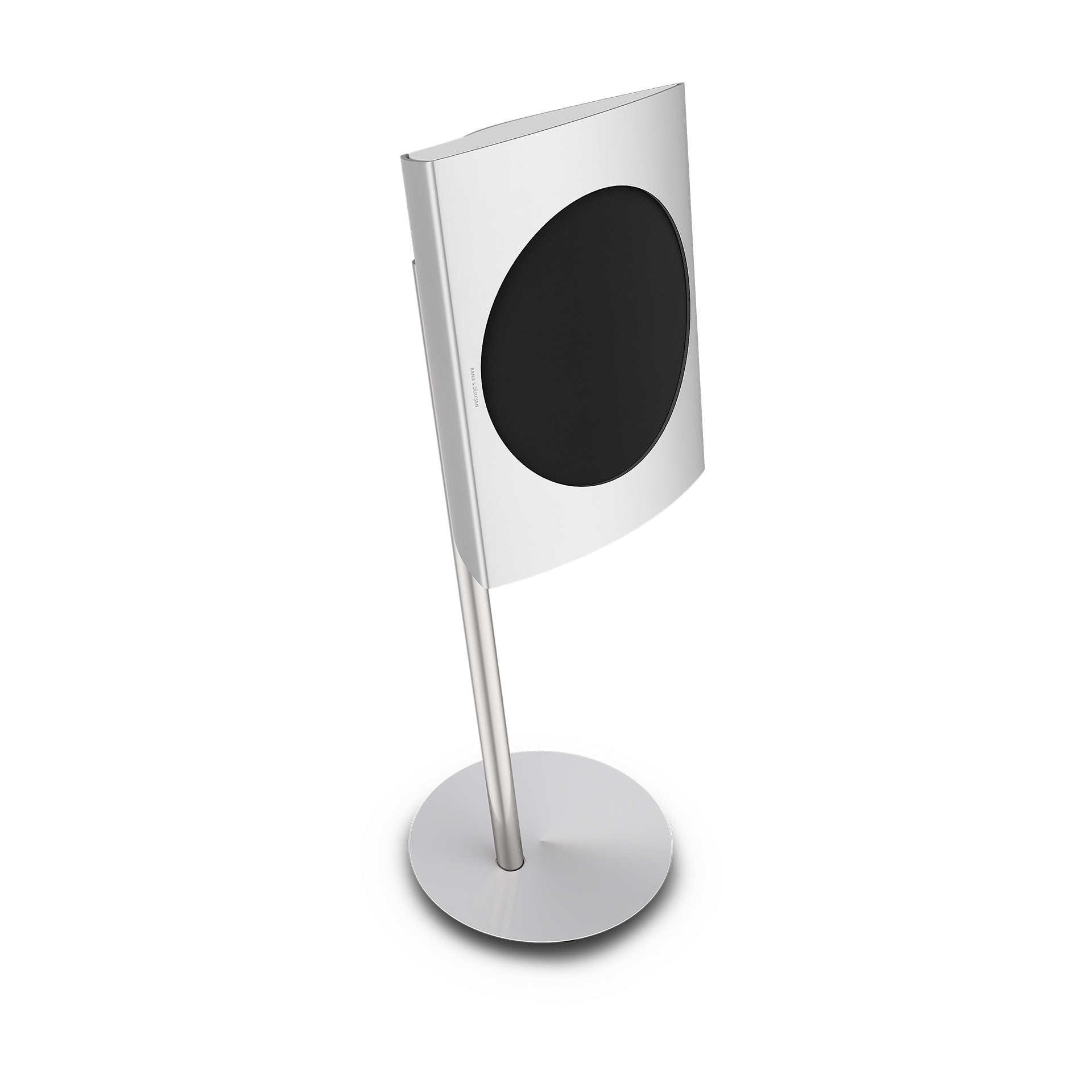beolab 17 - Wireless harmonyWireless and ingeniously designed speaker with a forceful sound performance that punches way beyond its actual size.With floor stands. Black Grille and White End Caps.WERE £3,495 NOW £2,970