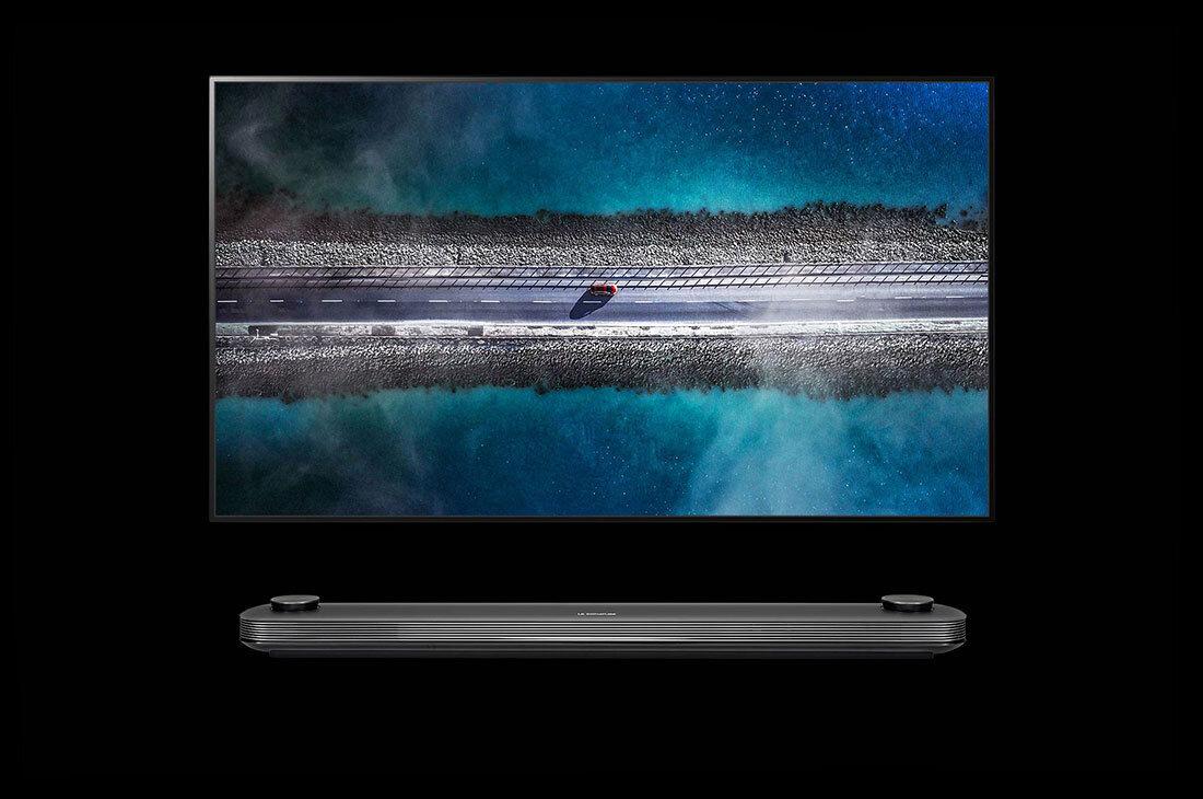 "LG SIGNATURE OLED 4K TV - W9 - 77"" £9,999, 65"" £5,999"