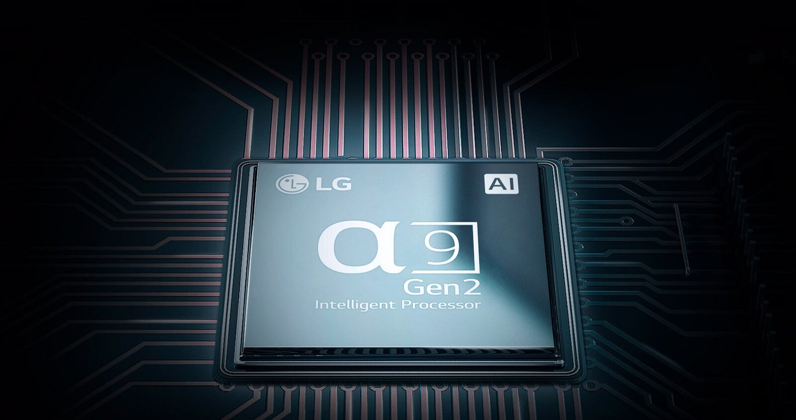 New 2nd Gen α9 Processor with AI - The 2nd generation α9 Processor has been upgraded with a deep learning AI algorithm, which optimises picture and sound depending on the type and quality of content, so you always enjoy a breathtaking experience.