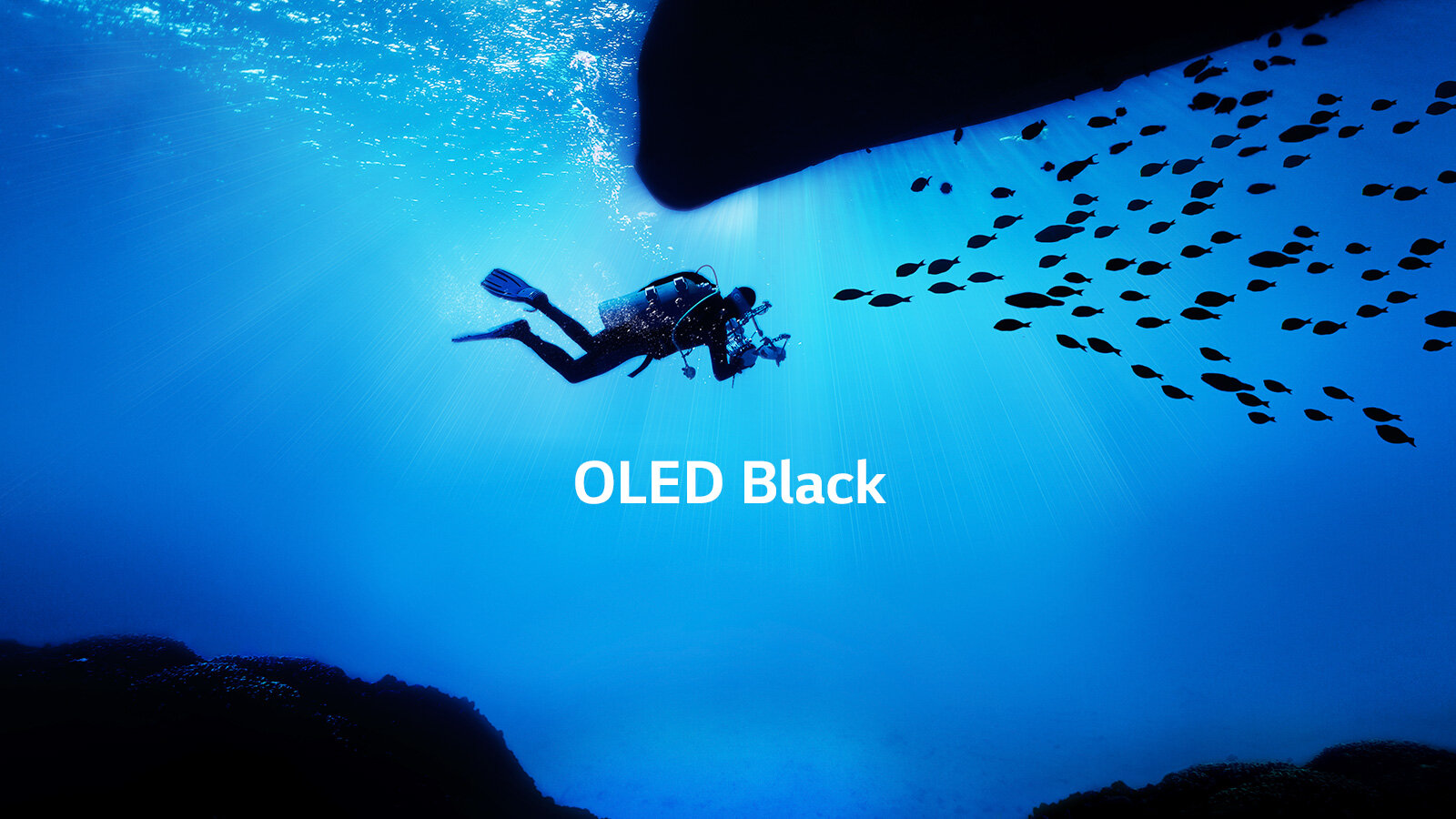 Perfect Colour on Perfect Black - OLED pixels create an astonishingly accurate and wide colour range which is presented on the perfect black background only available from self emitting pixels.