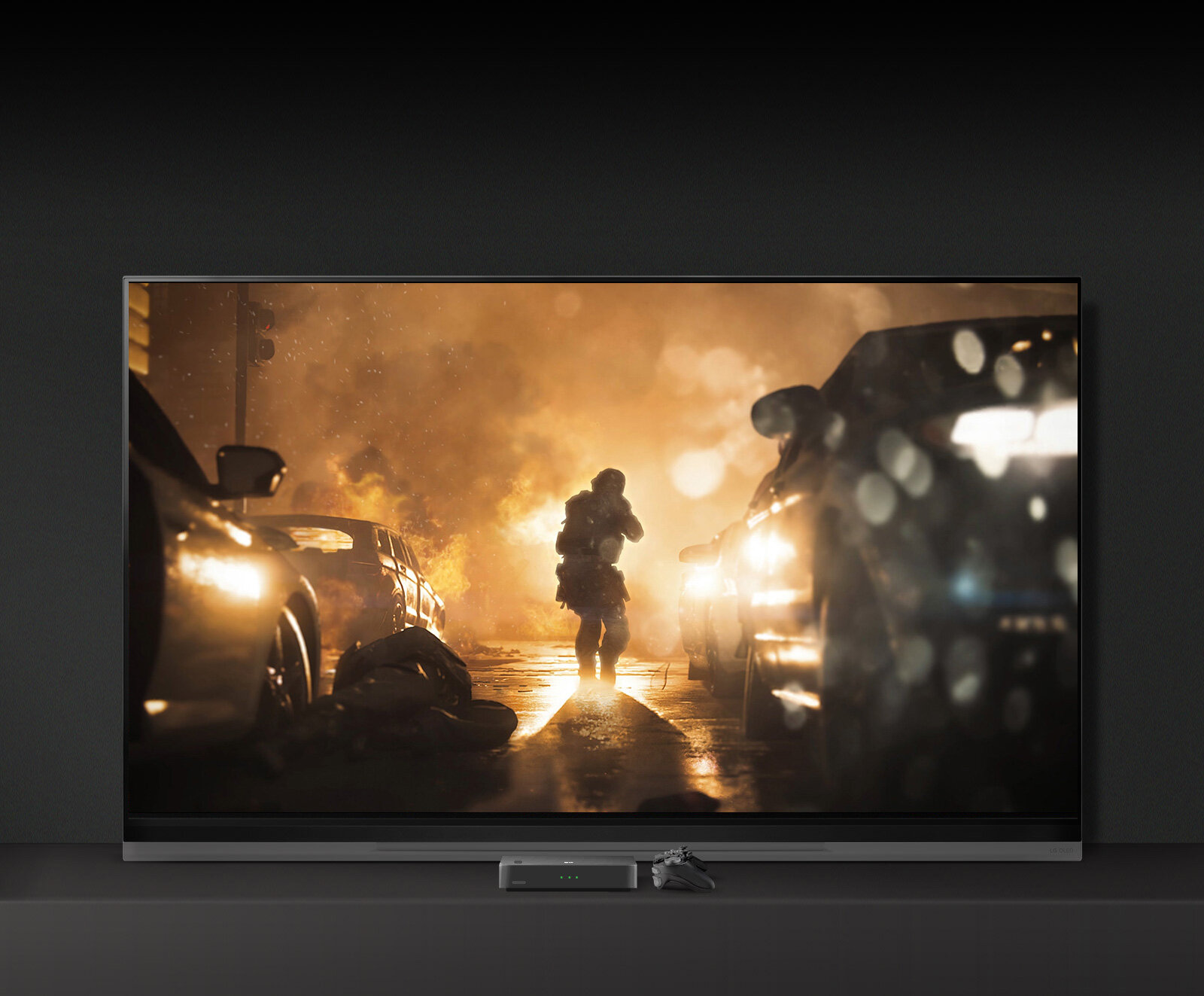 A New Level of Realism with OLED Black - Experience breathtaking immersion with the dark details. 4K HDR gaming delivers more vibrant colors, even from a Wide Viewing Angle. 5.1 Virtual Surround Sound envelops you in dramatic sound for a complete gaming experience.
