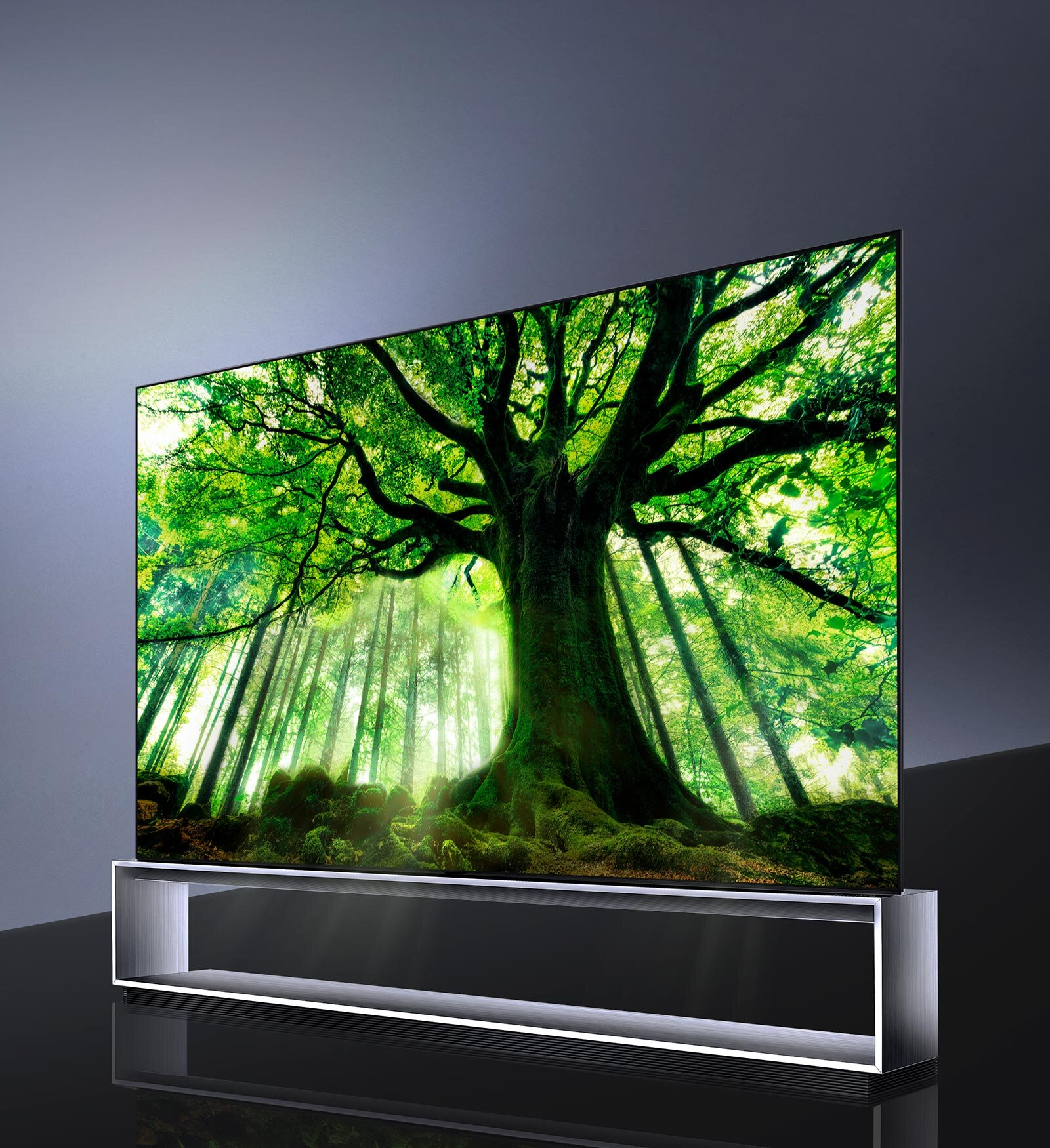 LG OLED Takes 8K to New Levels - The world's first LG OLED 8K TV delivers more colour, depth, and detail than ever before, all on an ultra-large 88-inch screen. It's a viewing experience like no other, with LG's OLED display technology creating an unparalleled level of 8K. Let OLED 8K transport you to a new, vivid world of TV.