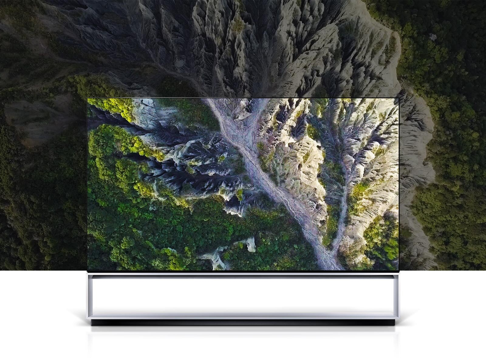 Real 8K OLED - OLED 8K has 33 million self-emitting pixels and 130 million sub-pixels—four times the resolution of 4K. Unlike LEDs, each pixel can be controlled individually to create extremely precise images with more accurate colour, infinite contrast, and perfect blacks.