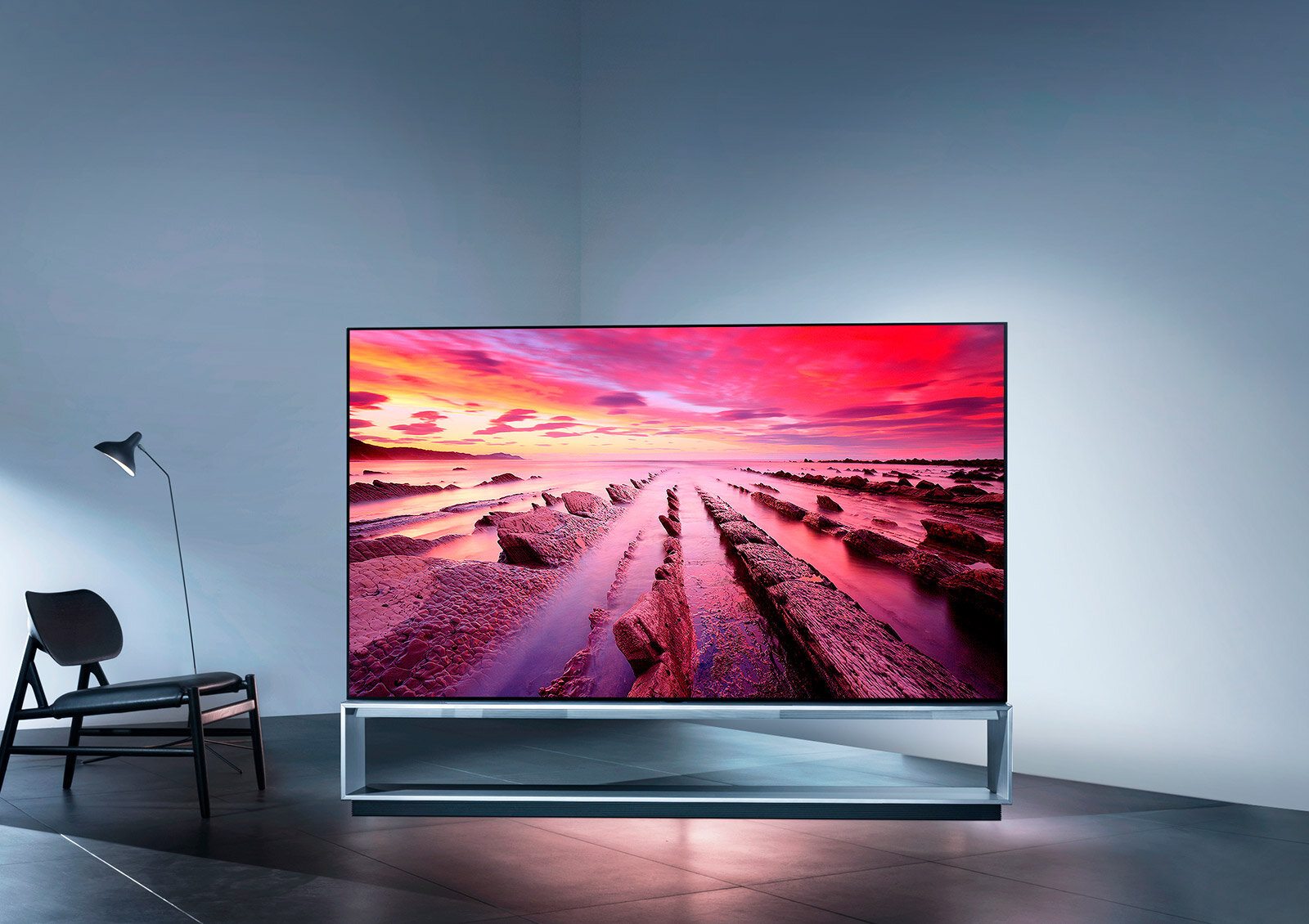 88 Inches — The Largest OLED - The super-sized 88-inch screen is the largest OLED display in existence. Imagine you're in a theater, stadium, or concert hall thanks to a breathtaking view that transports you to the heart of the action.