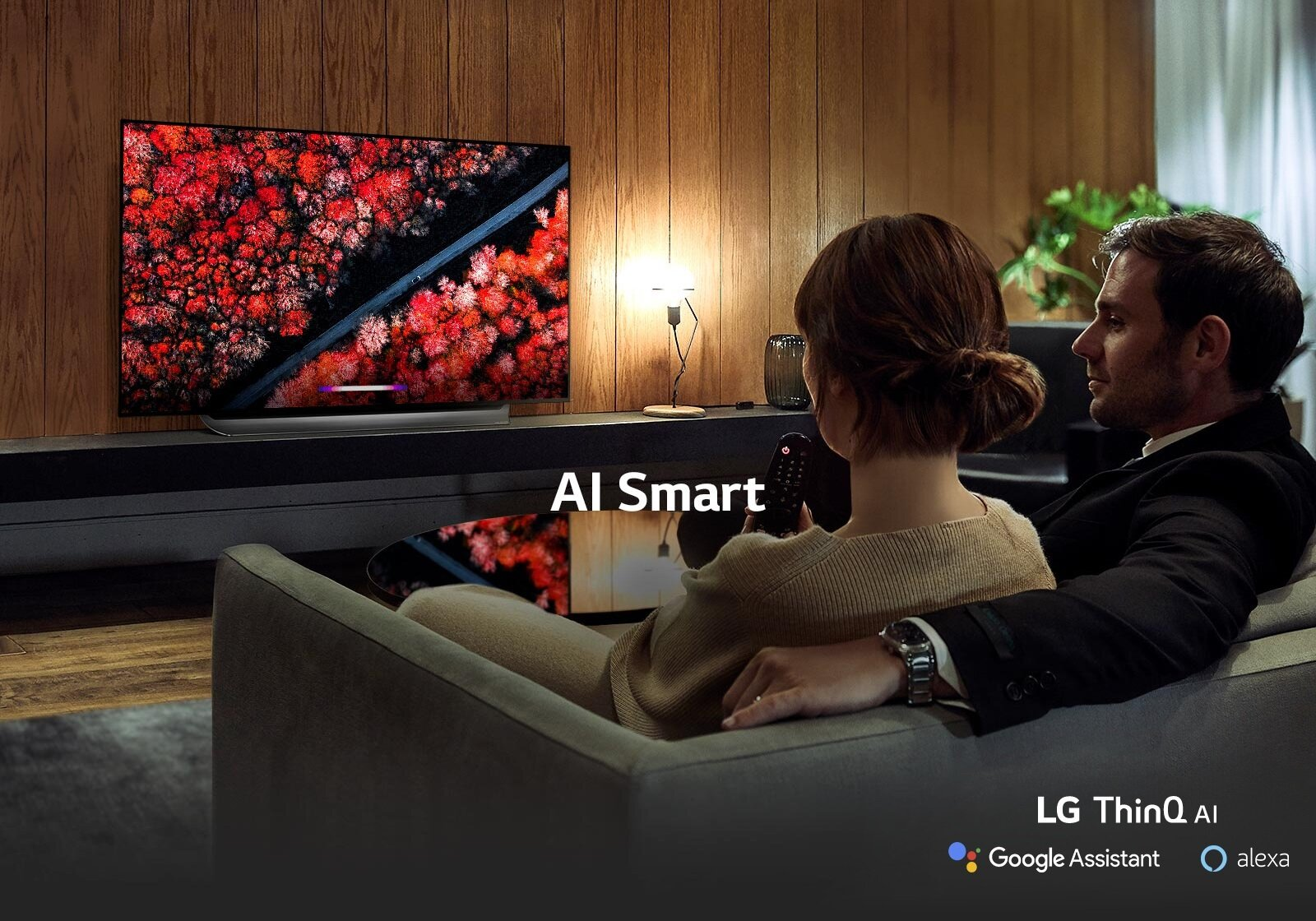 Live in wonder with New Intelligence - LG AI TV expands your AI experience with both the Google Assistant and Alexa*. Get answers to questions and control smart home appliances all through the power of your voice.