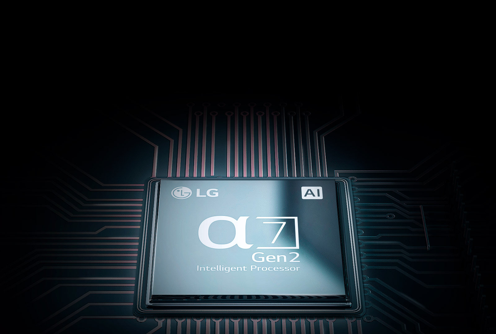New 2nd Gen α7 Processor with AI - The 2nd gen α7 Processor upgraded with Deep Learning AI algorithm provides a breathtaking detailed image and custom sound to be immersed in incredible reality.
