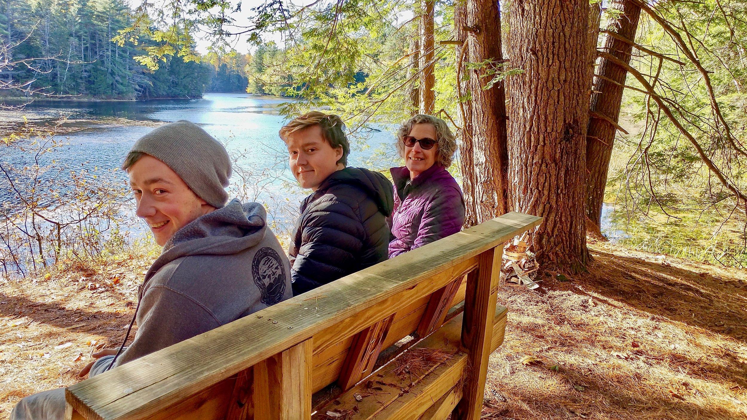 In order from left to right, Dakota Ward, Aidan Black, & Alice Bragg