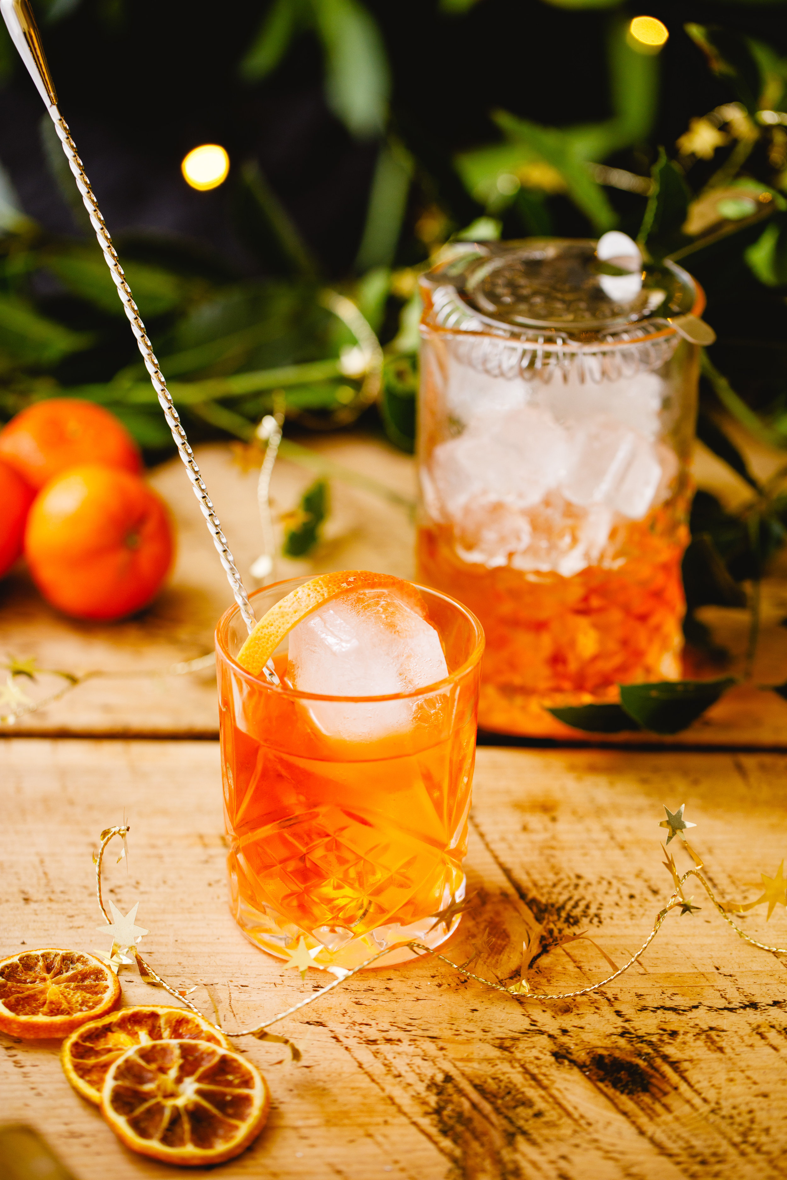 Orange Spice Negroni - Difficulty: Easy. Can be prepared in advance! Winner, Winner, Turkey Dinner.