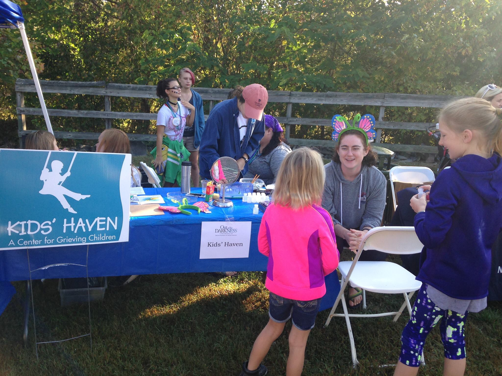 Our Vision - Kids' Haven strives to provide access to free grief support for every grieving child in the Greater Lynchburg, Virginia area