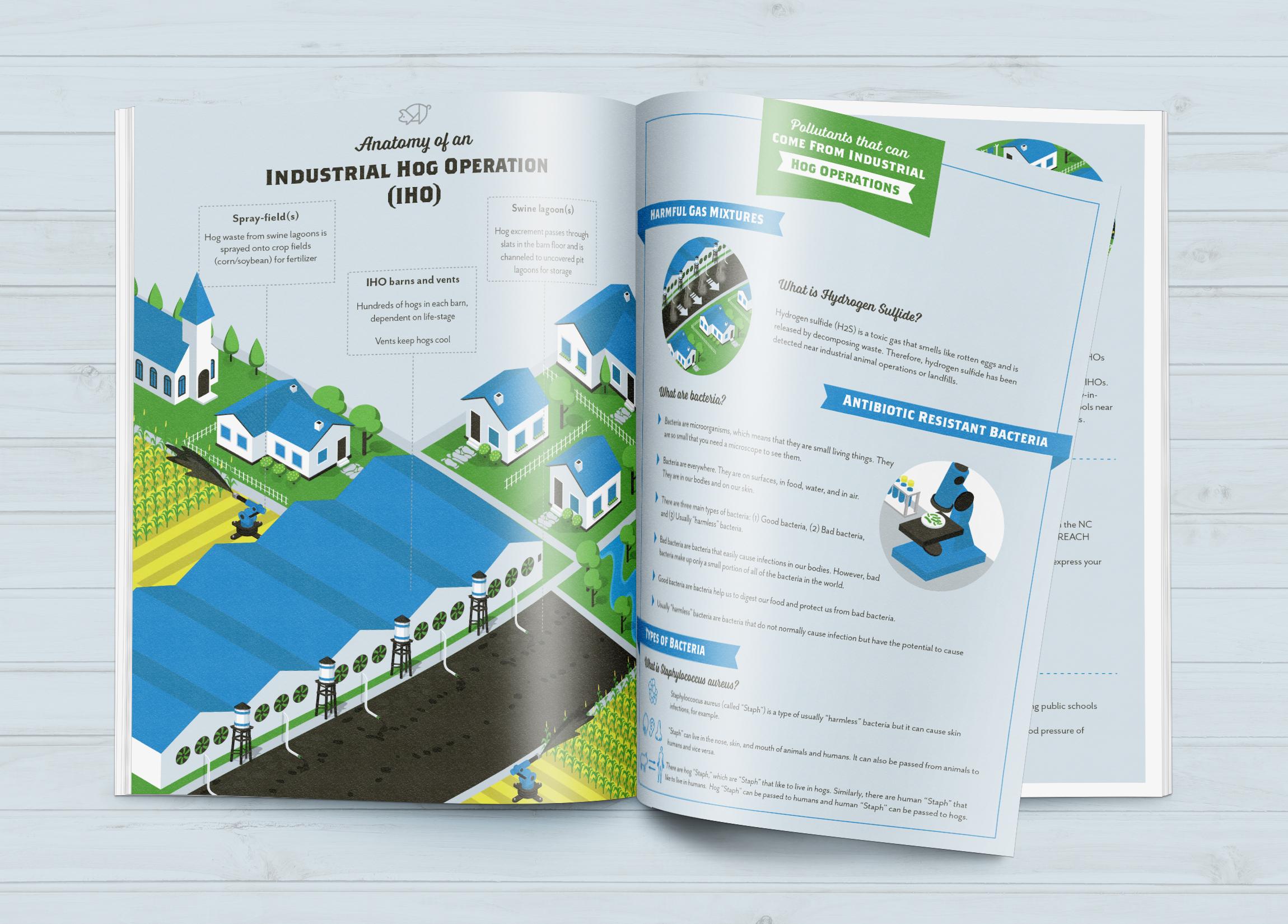NC Environmental Justice Network - Print + Illustration + Website