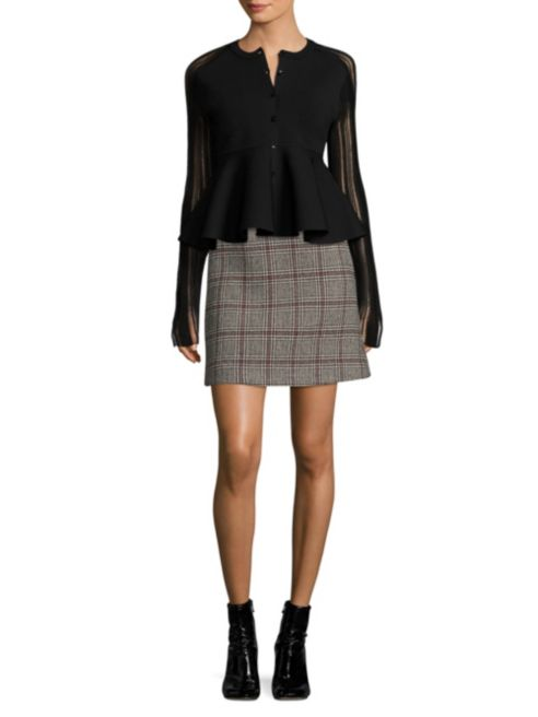 Carven - Plaid Mini Skirt $139.99