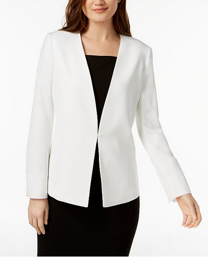 Nine West - Kiss-Front Blazer $79.40