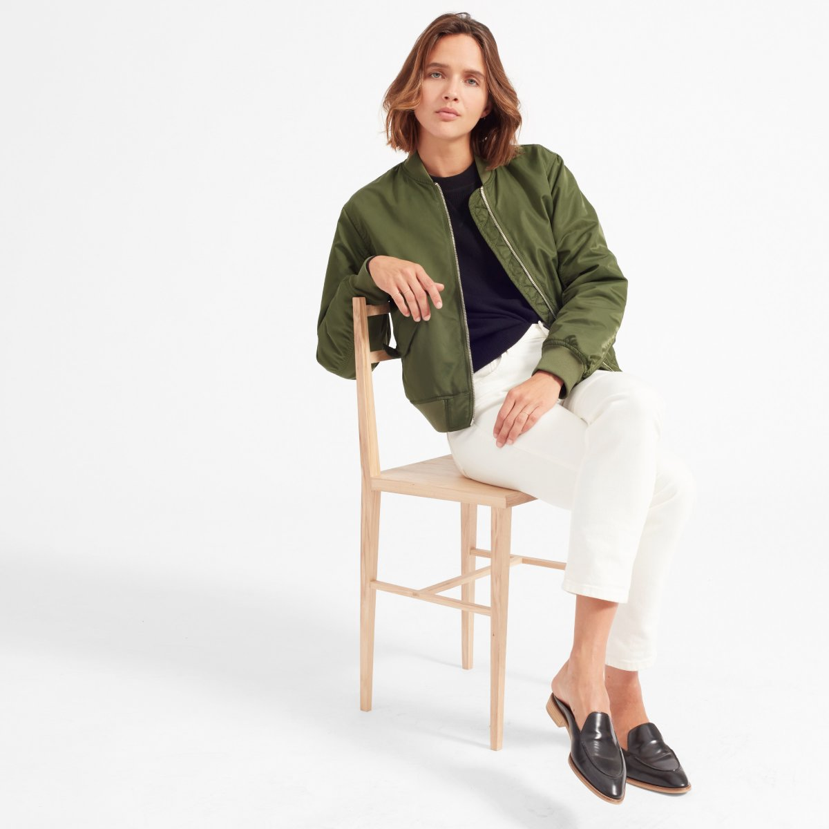 Everlane  - The Bomber Jacket $80