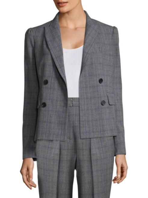 Rebecca Taylor  - Checked Wool Blazer $209.99