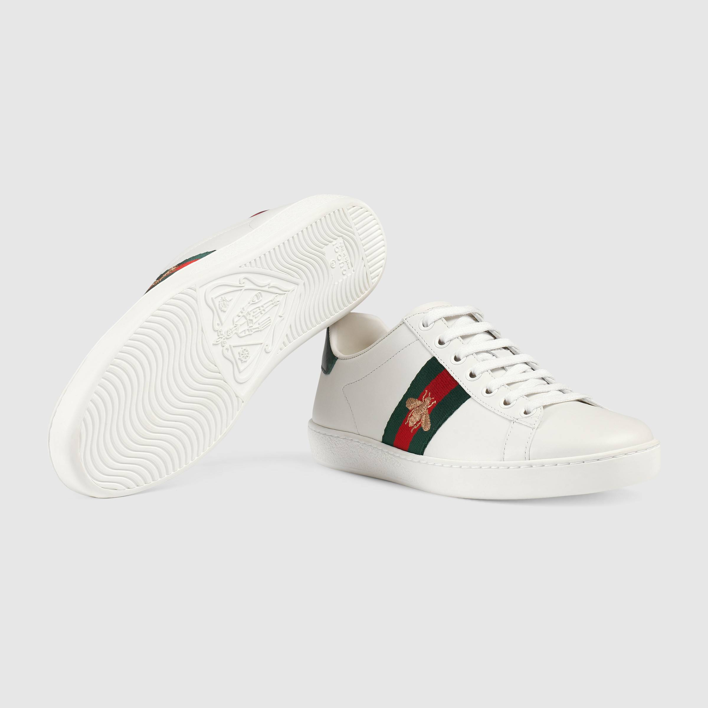 Gucci  - Ace embroidered sneakers $620