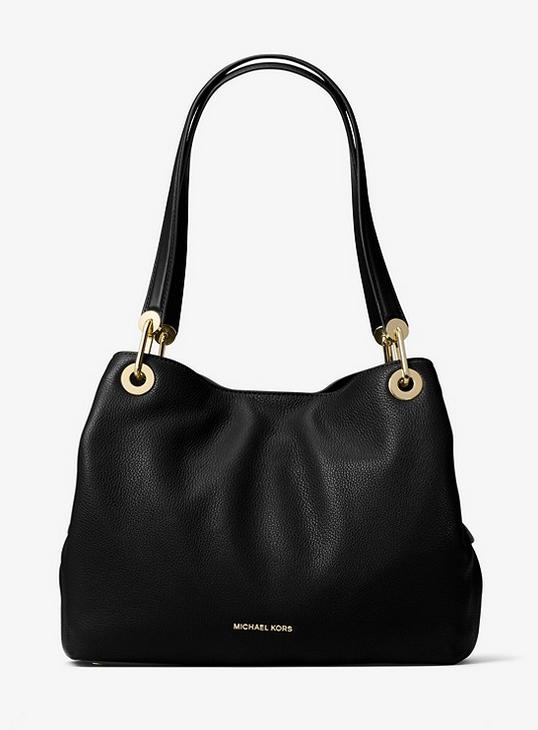 Michael Kors - Raven Large Leather Shoulder Bag (similar, same one not available anymore) $298.00