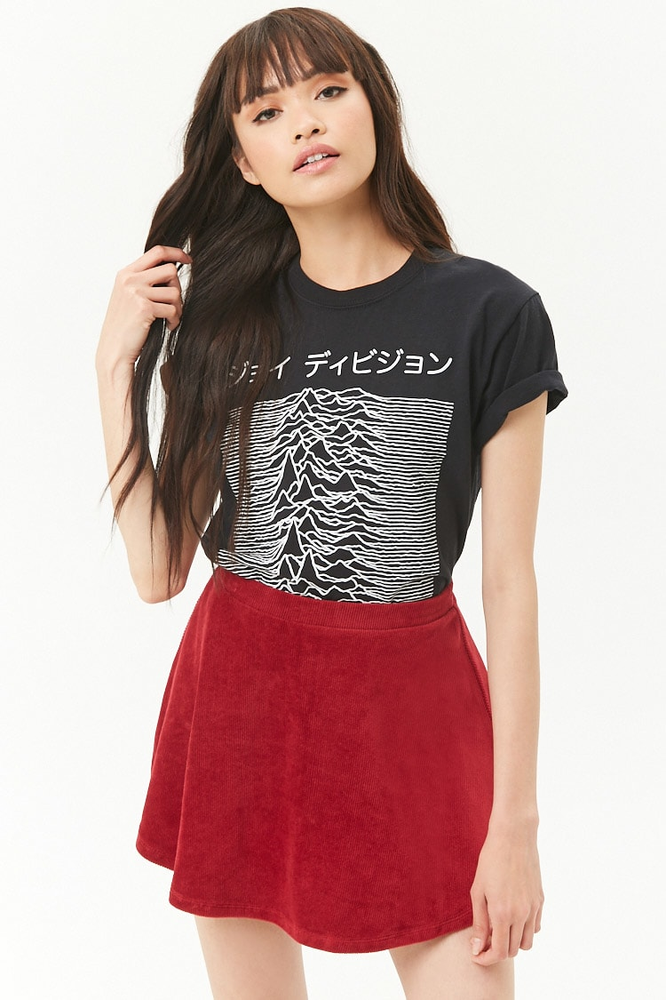 Forever 21 - Ribbed Skater Skirt $10.90