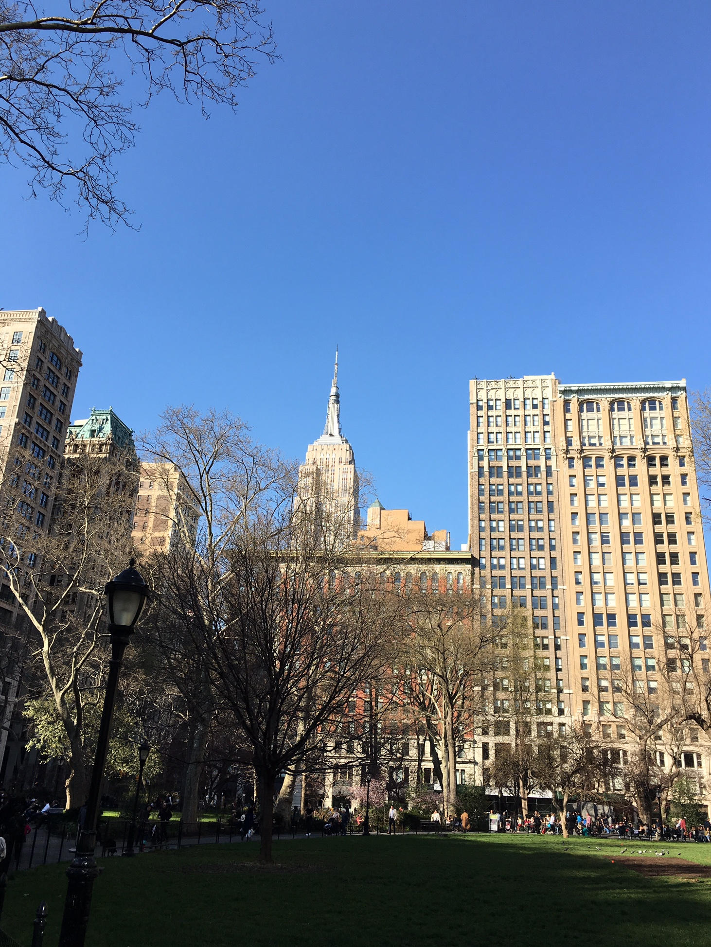 Escuchen música en vivo gratis en el Madison Square Park -