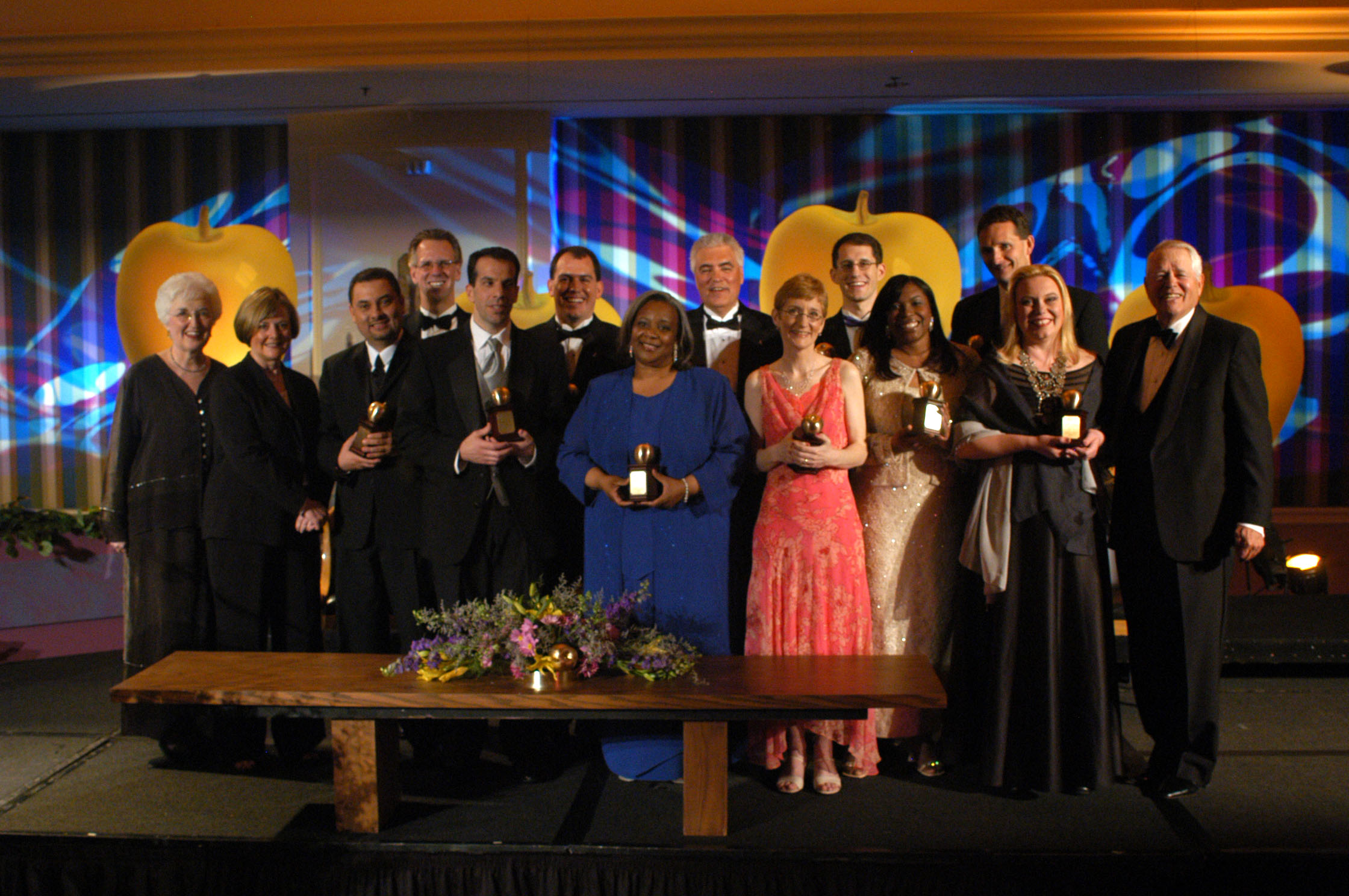 2004 Golden Apple Award winners and presenters.jpg